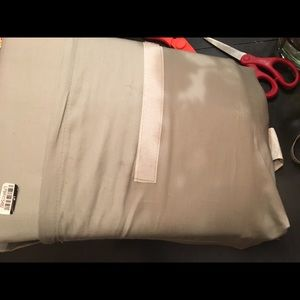 Brand new set of twin gray bed sheet set